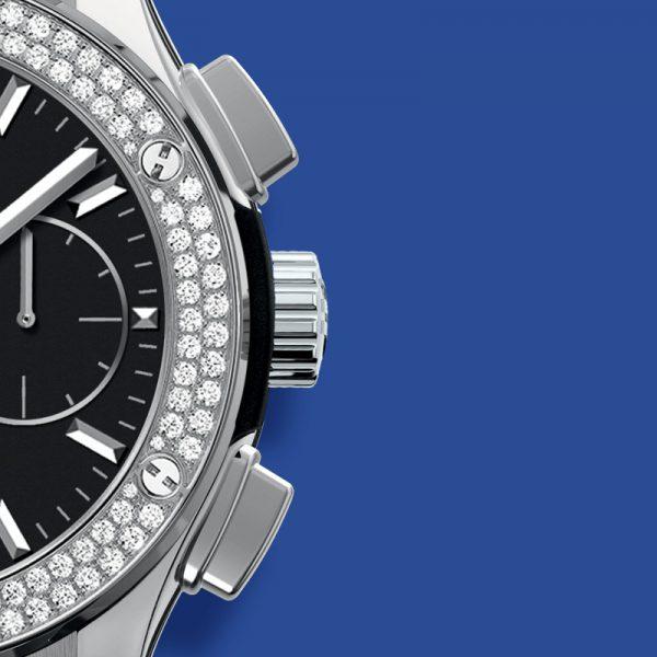 Hublot Classic Fusion Chronograph Titanium Diamonds
