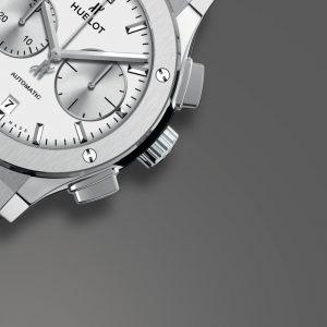 Hublot Classic Fusion Chronograph Titanium Opalin