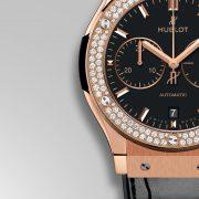 Hublot Classic Fusion Chronograph King Gold Diamonds