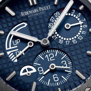 Audemars Piguet Royal Oak Dual Time xanh dương